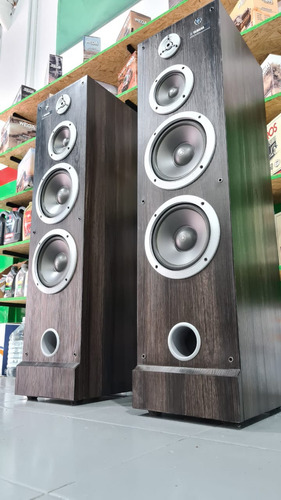 Columnas Yamahahi-fi Ns-74 Impecables Igual Que En Las Fotos