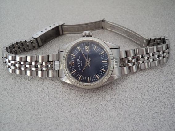 Rolex Dama Date Automatico Acero