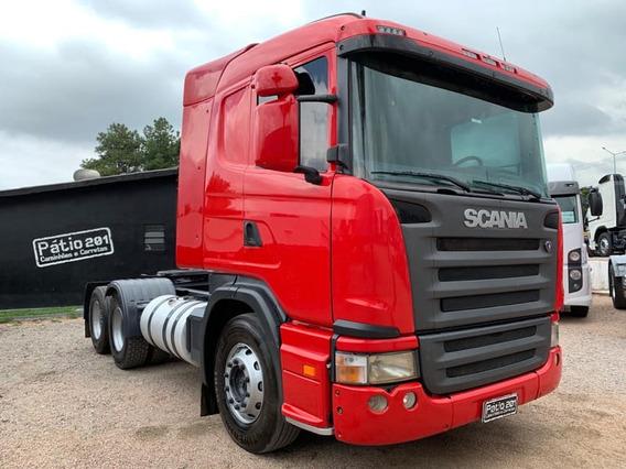 Scania G 420 2010 Trucada 6x2 Com Ar Condicionado