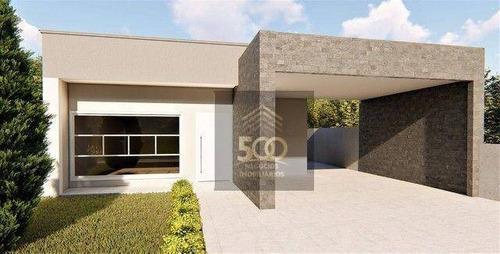 Imagem 1 de 10 de Casa Com 3 Dormitórios ( Sendo 1 Com Suíte ) À Venda, 137 M² Por R$ 630.000 - Praia De Fora - Palhoça/sc - Ca0785