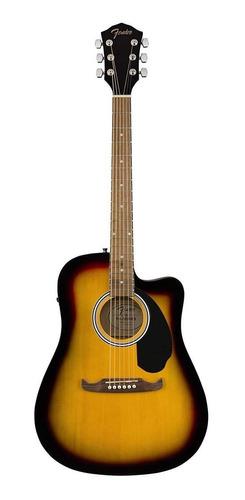 Guitarra electroacústica Fender  Alternative FA-125CE sunburst
