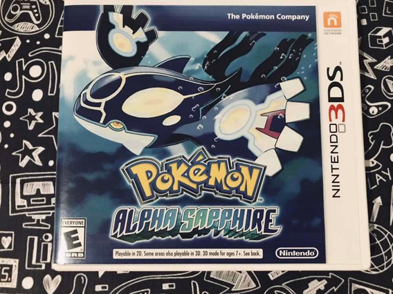 Jogo Pokémon Alpha Sapphire Original 3ds