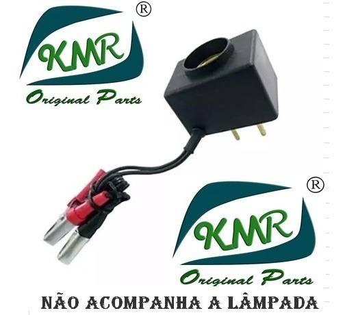 5 X Carregador Bateria Emergencial- P/lâmpada Incandescente