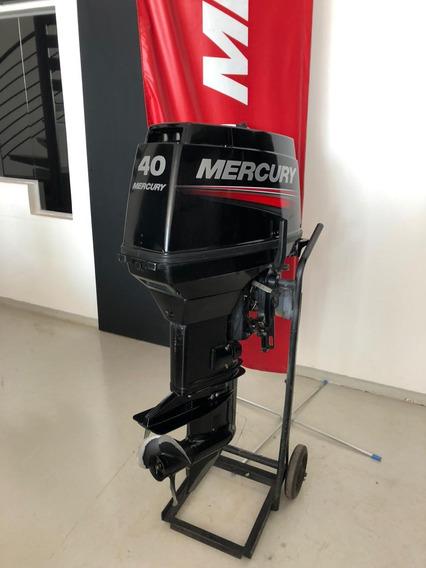 Motor De Popa Mercury Carburado 2t -40 M 2014
