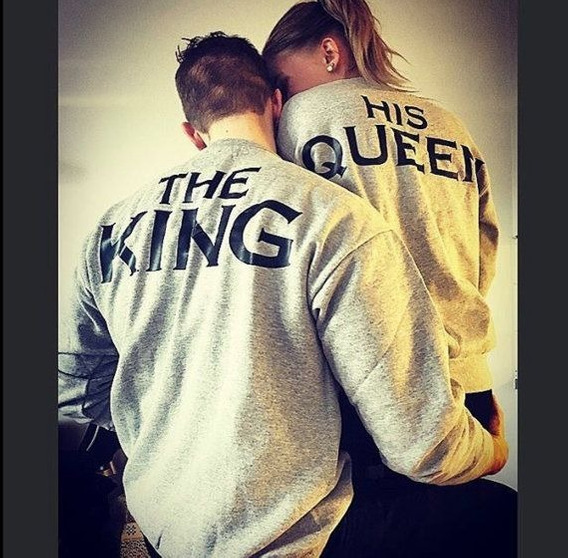 Sueter Parejas King And Queen