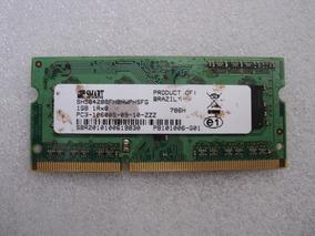 Memória Ram 1gb Ddr3 Notebook - Usada