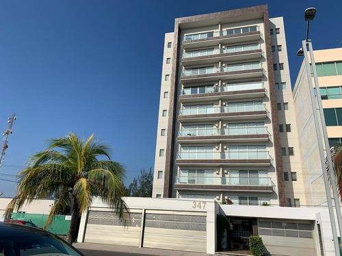 Renta Departamento Amueblado Edificio Residencial Zona Sur