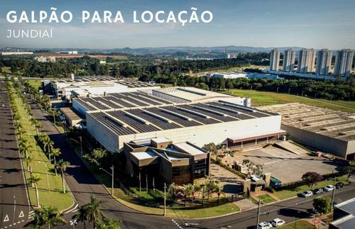 Imagem 1 de 11 de Galpão Para Alugar, 5418 M² Por R$ 140.000/mês - Distrito Industrial - Jundiaí/sp - Ga0462