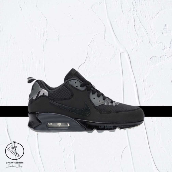 Nike Air Max 90 X Undefeated Black