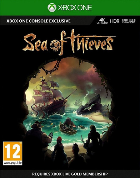 Sea Of Thieves - Xbox One Midia Fisica Dvd