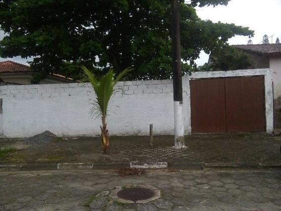 Terreno Murado E Aterrado Em Mongaguá, 420 M² - 4528/p