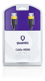 Cable Hdmi Quantic Qc-x65 1,5mts