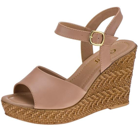 Sandalia Feminina Anabela Espadrille Tricê Corda Sapato Casual Conforto Prático Barato Excelente Qualidade Atacado