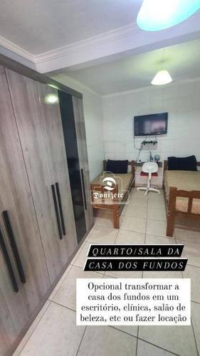 Imagem 1 de 12 de Casa Com 2 Dormitórios À Venda, 150 M² Por R$ 550.000,00 - Vila Tereza - São Bernardo Do Campo/sp - Ca1335