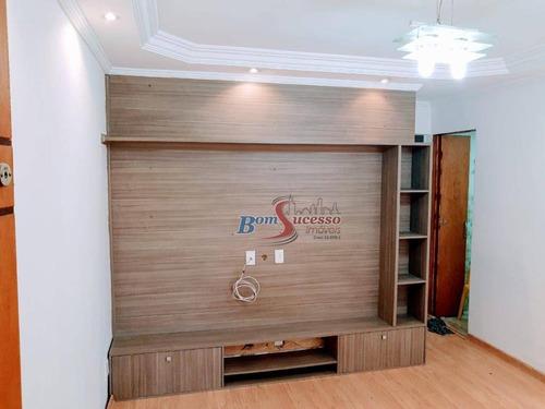 Apartamento Com 2 Dormitórios À Venda, 46 M² Por R$ 275.000,00 - Jardim Independência - São Paulo/sp - Ap2575