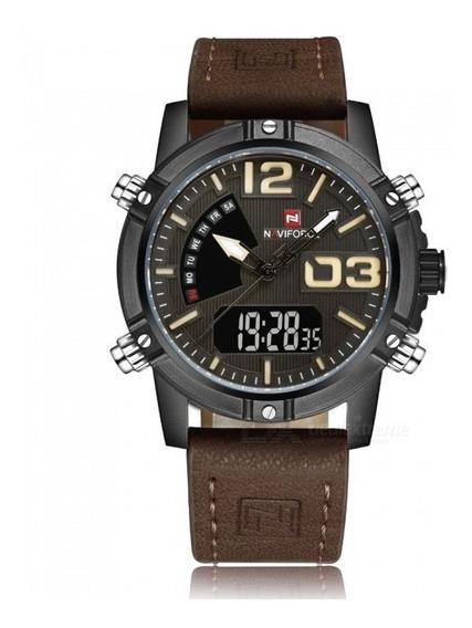 Relógio Naviforce 9095 - Castanho