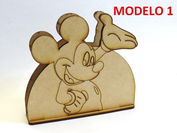 5 Servilleteros Infantiles De Mickey Mouse