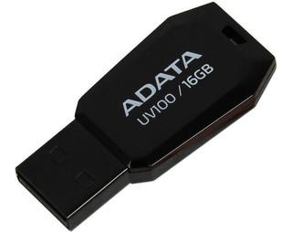 Memoria USB ADATA UV100 16GB negro
