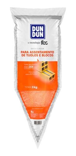 Dun Dun Masa Adhesiva Lista Para Usar Pega Ladrillos X 3kg