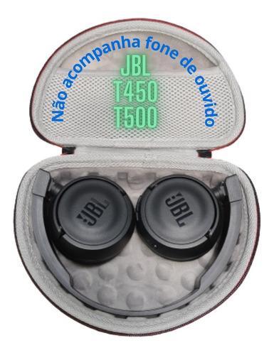 Imagem 1 de 8 de Case Capa Dura Porta Fone Compatível Jbl Sony Akg Dazz Bose