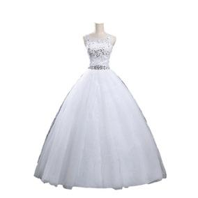 Vestido De Novia 40 42 44 M L Traído Usa Nuevo Marfil