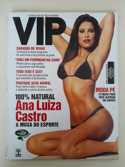 Revista Vip 221 Ana Luiza Castro Andréa Leal Beyoncé Milene