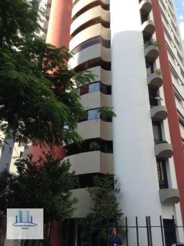 Imagem 1 de 17 de Apartamento Residencial Com 4 Suítes À Venda Na Avenida Rouxinol - Moema, São Paulo/sp - Ap1407