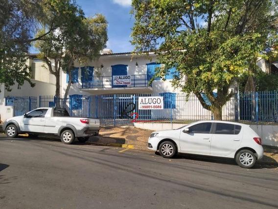 Casa Comercial Para Locação, Nova Campinas. - Ca0469