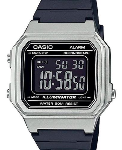 Relógio Casio Masculino Digital Prata  W-217hm 7bdf