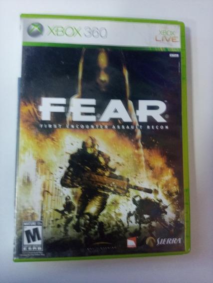 Fear First Encounter Assault Recon Xbox 360 Original Dvd