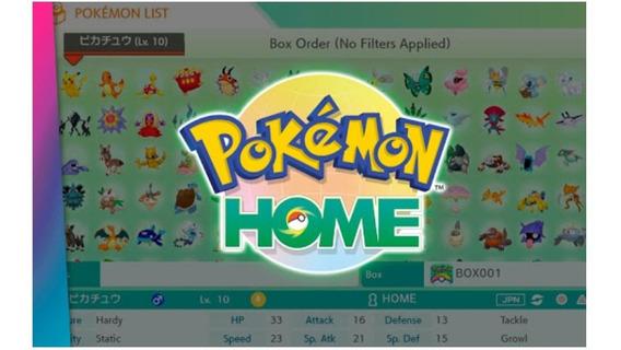 Pokemon Home 930 Pokemon Shiny Pro Seu App Home *promoção