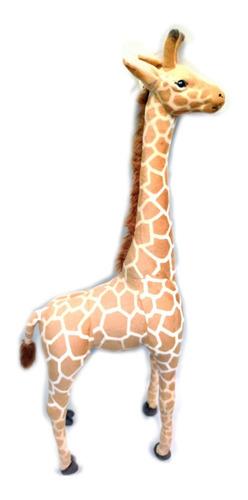 Girafa Gigante 1,40cm Safari Ralista Linda Em Pelúcia