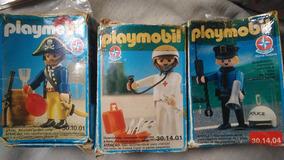 Coleção Playmobil Estrela - 3 Figuras