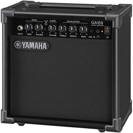 Cubo Amplificador Guitarra 15w Yamaha Ga15ii Clean E Drive