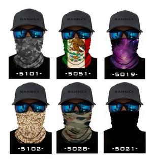 Bandana Protección Sol Mascara Para Moto Cubre Polvo Y Sol
