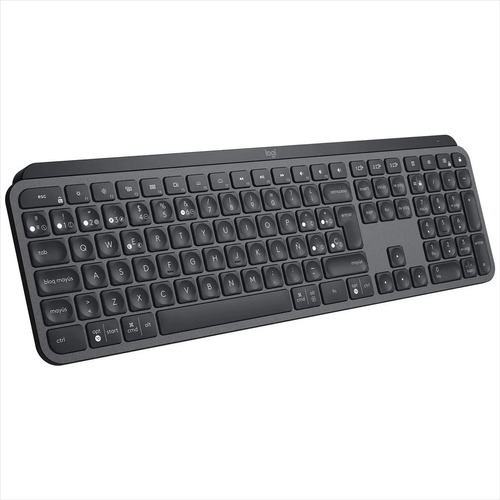 Teclado Logitech Mx Keys-bluetooth-usb-recargable-mac-window