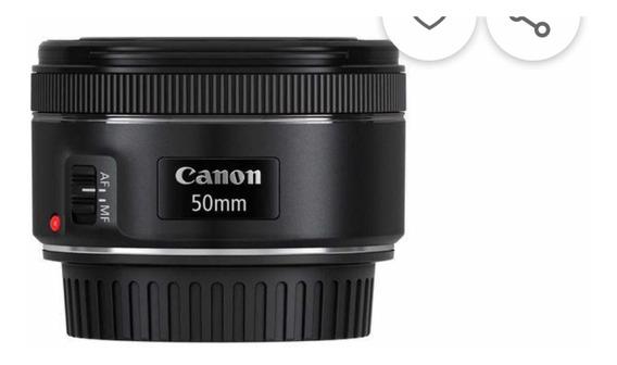 Lente Cânon Ef 50mm F/ 1.8 Stm