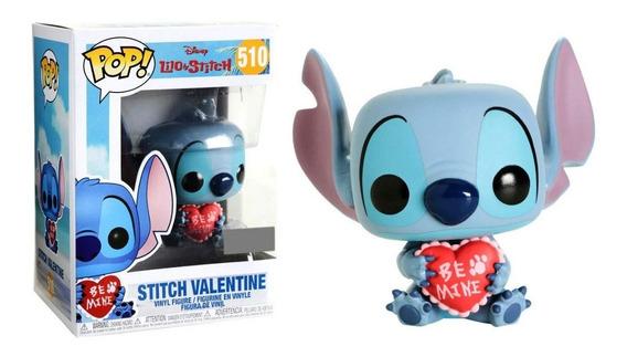 Funko Pop! Lilo Y Stitch Figura Stitch Valentine #510, 2019