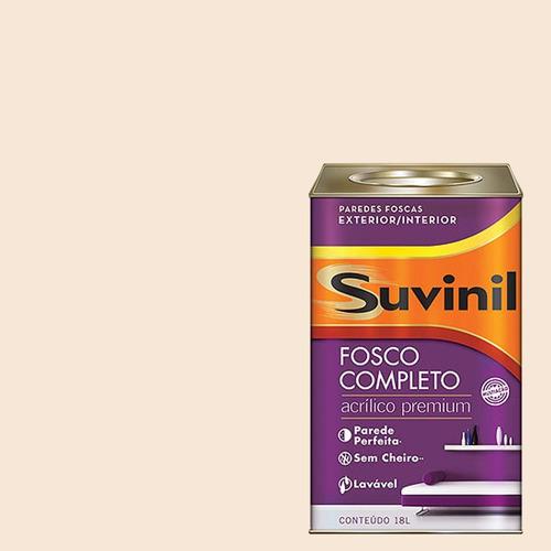 Tinta Acrilica Fosca Premium Suvinil Palha De Seda 18lts.