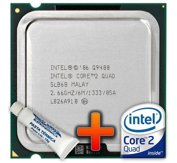 Processador Core 2 Quad 9400 + Cooler 130w