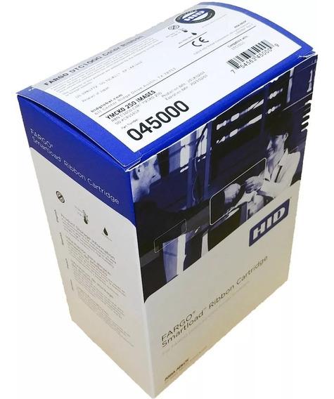 Ribbon Color Fargo 45000 P/ Fargo Dtc1250 Ymcko 250 Imp