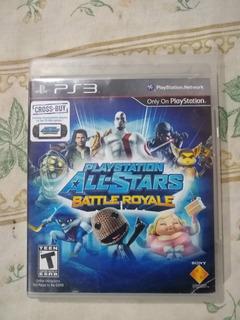 Playstation All-star Battle Royale Ps3 El Smash Bros De Play