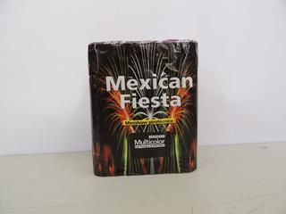 Torta Mexican Fiesta Fuegos Artificiales Multicolor Cadenaci
