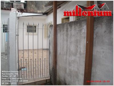 Casa Para Aluguel, 1 Dormitórios, Penha De França - São Paulo - 256