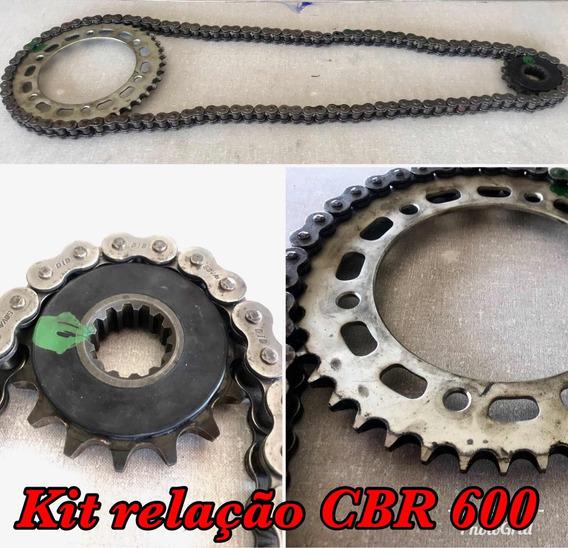 Kit Relação Cbr 600 Usada