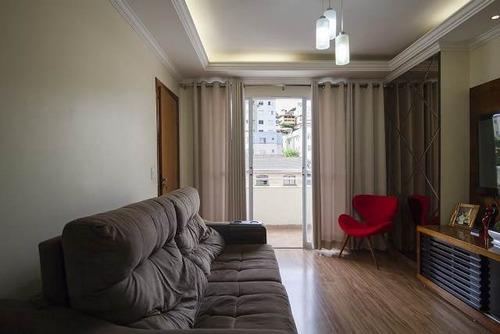 Apartamento Com 3 Quartos Para Comprar No Havaí Em Belo Horizonte/mg - Hi2424