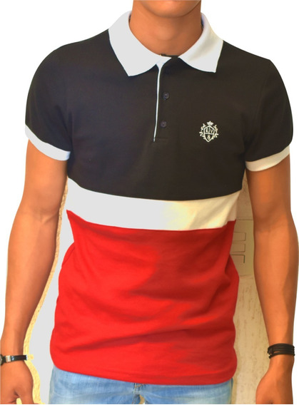 Playera Tipo Polo 2x1 Eandv Fashion