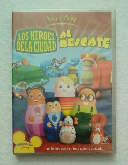 Dvd Los Heroes De La Ciudad Al Rescate - Educativo Infantil