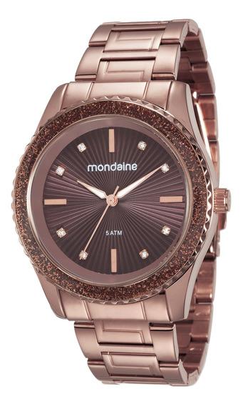 Relógio Mondaine Feminino Chocolate 76568lpmvme6 - Nfe
