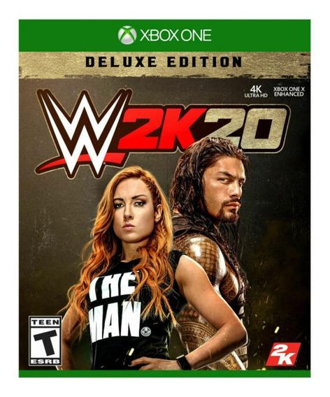 Wwe 2k20 Xbox One Mídia Digital + 1 Jogo Grátis